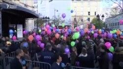 Парижда уч йил аввалги теракт қурбонлари ёдга олинди