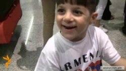 Сирийские армяне бегут из бомбардируемого Алеппо