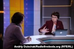 Ведуча програми «Суботнє інтерв'ю» Інна Кузнецова