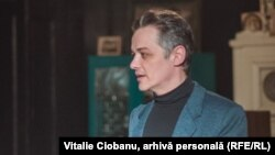 Actorul Vlad Ciobanu