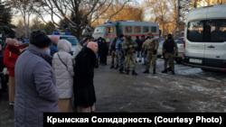 17 лютого російські силовики провели обшуки в будинках кримських татар в окупованому Криму