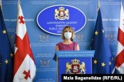 Nino Lomjaria georgiai ombudsmant megrázták a kiszivárogtatások