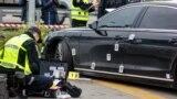 Ukraine -- President aide Serhii Shefir's auto shooting