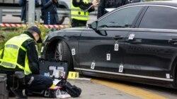 Как обстреляли автомобиль помощника Зеленского