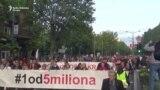 Dvadeset šesta protestna šetnja u Beogradu