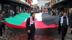 Mirni protest u Sarajevu: podrška narodu Palestine