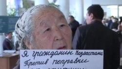 На акции акимата Астаны говорили и про Бокаева и Аяна