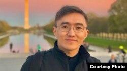 Германияда иштеген кыргызстандык программист Нурсултан Турдукулов.