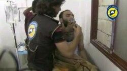 Применение газа в Сирии 1 августа - видео Сирийской гражданской обороны