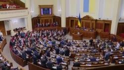 """Kiyevdə etirazçıların """"ilk qələbəsi"""""""