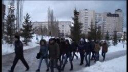 Уфада Башкорт республикасының 100 еллыгына багышланган йөреш