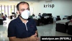 Krisp-ի համահիմնադիր Արտավազդ Մինասյանը զրուցում է «Ազատության» հետ