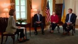 U.S. Senators In Kyiv Pledge Support For Ukraine, Warn 'Aggressive' Russia