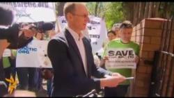 В Австралії пікетують посольство Росії на захист активістів Greenpeace