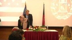 سميت: ۷۵۰۰ زن آموزش دیدۀ افغان آماده کاریابی خواهند شد
