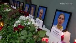 Падіння літака в Ірані: у Борисполі вшанували пам'ять членів екіпажу – відео