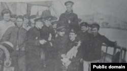 Marinari revoluționari români, 1918