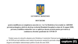 Romania capture HG campaign rules