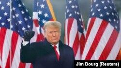 Presidenti në largim i SHBA-së, Donald Trump.