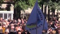 Georgian Opposition Mounts TV Station Protest