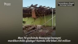 Тадбиркор: Ҳурматли президент, 70 ëшимда мардикорлик қилишга Россияга кетайми?