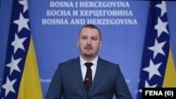 Јосип Грубеша, министер за правда на Босна и Херцеговина