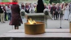 """""""Марш живых"""" в память о мертвых: 4 июля в Риге чтут тех, кто погиб в местном гетто"""