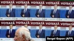 Chișinău: campania electorală pentru alegerile prezidențiale, octombrie 2020.