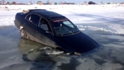 Как добраться в российскую Куду по мосту, который рухнул? (видео)