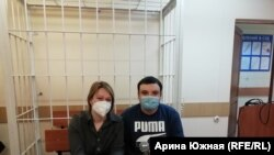 Евгений Рудковский и юрист Анастасия Васильева