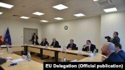 Лидеры оппозиционных партий Грузии (иллюстративное фото)
