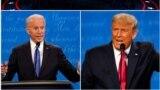 Moldova - ultima dezbatere prezidențiale între președintele Donald Trump și fostul vice-președinte democrat Joe Biden înainte de alegerile din 3 noiembrie, Nashvlle, 23 octombrie 2020