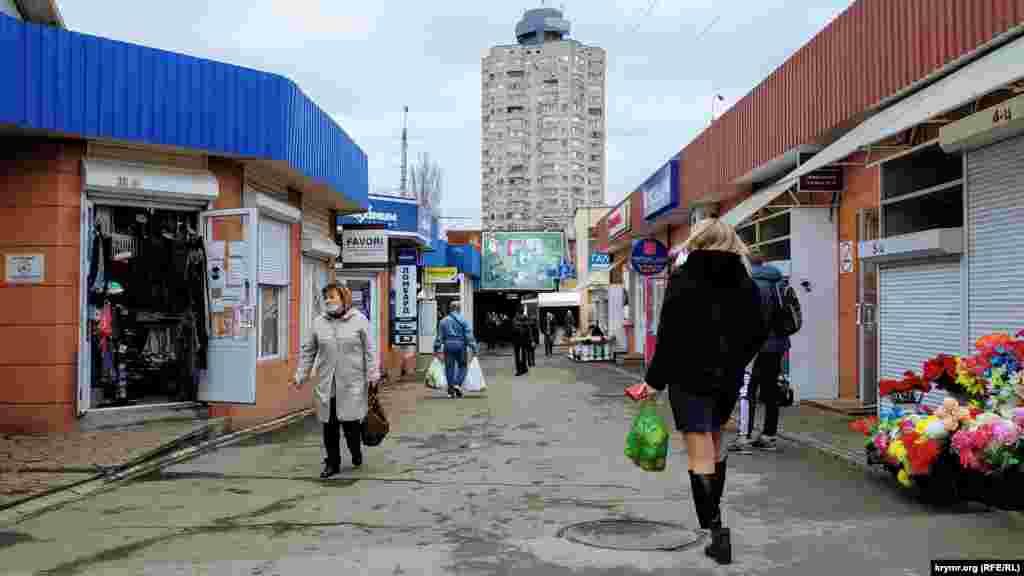 Ринок – чи не головний «символ» більшості кілець у Сімферополі