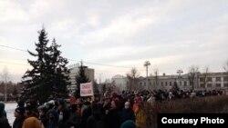 Акция в поддержку Навального, 21 апреля, Иркутск