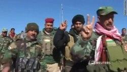 Курдское ополчение освобождает иракский город Синджар