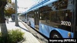 У центрі Севастополя зупинявся рух тролейбусів через поломку в контактній мережі
