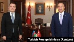 C.Bayramov və M.Çavuşoğlu