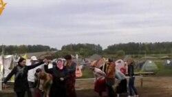 Лагерь Анти-Кроношпан. Хоровод