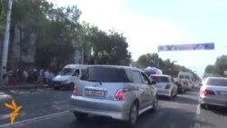 Sulm vetvrasës në Bishkek