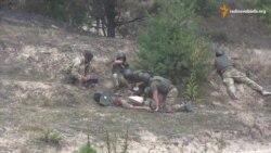 Ветерани АТО разом із британськими інструкторами відбивали засідку та рятували пораненого
