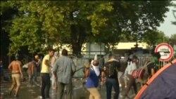 Sukobi policije i izbeglica na mađarskoj granici