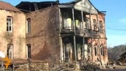 """Hacikəndin qəzalı """"dövlət binası"""""""