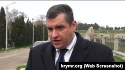 Крим, 2014 рік, Леонід Слуцький – голова комітету Держдуми Росії у справах СНД