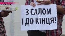 """Шаурмарш одесситов: """"Посадили поджелудочную, посадим и коррупционеров"""""""