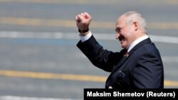 «Ми не знижуємо градус боротьби, хоча вже сьогодні можна сказати – ми перемогли», – сказав Лукашенко