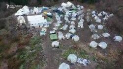 'Vučjak' iz drona nakon iseljenja migranata