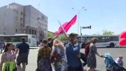 Астанадағы 9 мамыр мерекесі