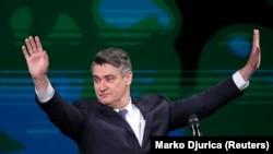 Predsjednik Hrvatske Zoran Milanović