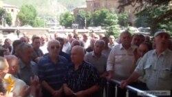 Վանաձորի «Քիմպրոմի» աշխատակիցները պահանջում էին չվճարված աշխատավարձ