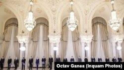 Cabinetul Cîțu la Palatul Cotroceni, 23 decembrie 2020
